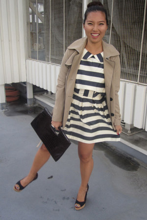 asos dress - Forever 21 jacket - Steve Madden wedges