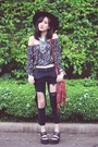 Black-diy-cheap-monday-jeans-ruby-red-hippie-unbranded-bag