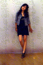 dress - Gaudi jacket - necklace - shoes