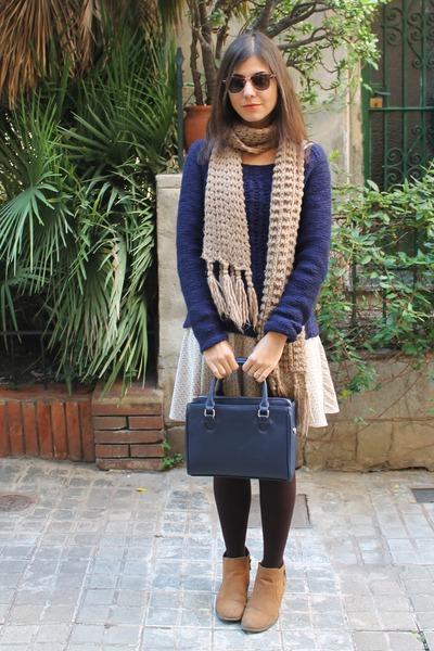 born pretty watch - Bershka dress - Zara bag
