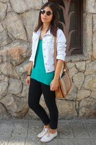 Bosanova bag - Primark shoes - Stradivarius jacket - firmoo sunglasses