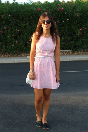 Forever 21 dress - Bershka bag - asos sunglasses