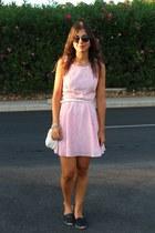 Forever 21 dress - Bershka bag - asos sunglasses