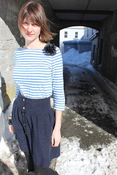 Joe Fresh shirt - Zara skirt