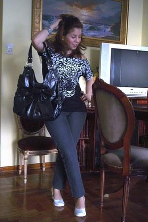 black algodon Perfecta extraa t-shirt