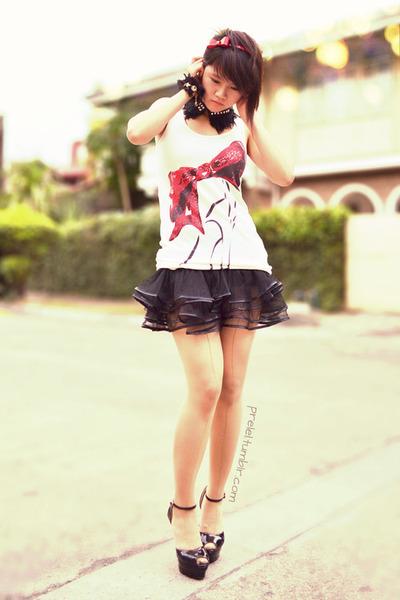 black AsianVogue skirt - black Orange Tag Online shoes