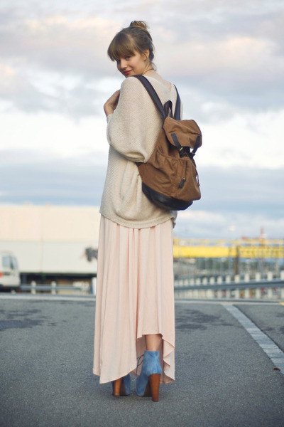 Urban Outfitters bag - HereJ dress - Topshop cardigan