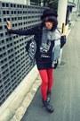 Lace-nollie-skirt-star-design-jeffrey-campbell-boots-bb-dakota-jacket