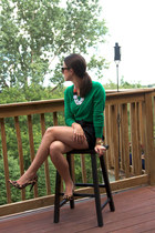 French Connection shorts - Gap sweater - Nine West heels - H&M necklace