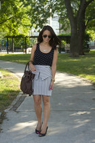 Urban Outfitters skirt - Michael Kors purse - Urban Outfitters necklace