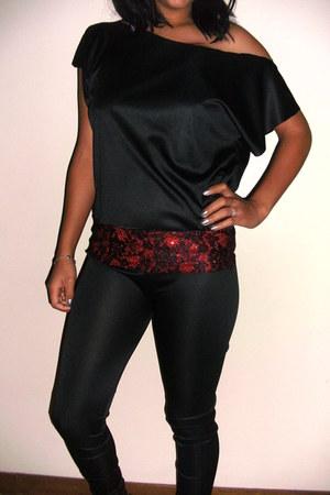 made myself top - black made myself leggings