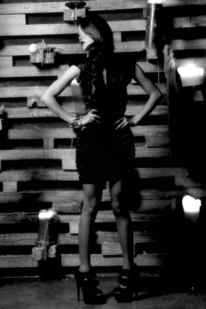 Steve Madden heels - Fashionaria dress