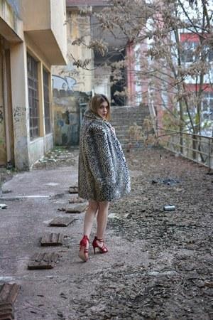 H&M bag - Zara dress - Zara heels - Missguided top