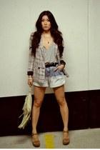 Style Nanda shorts - asos blazer