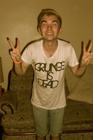 Grunge, apparently it's dead...