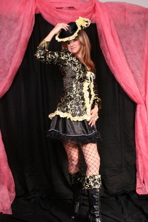 black Lady Ks suit