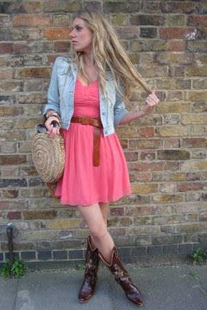 pink Primark dress