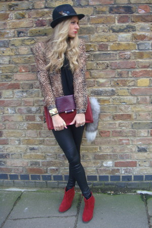 brown Primark blouse