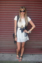 white River Island dress - black Primark vest
