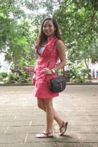 chartreuse watch strap Asprey bracelet - salmon bangkok dress
