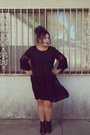 Black-dress-heels