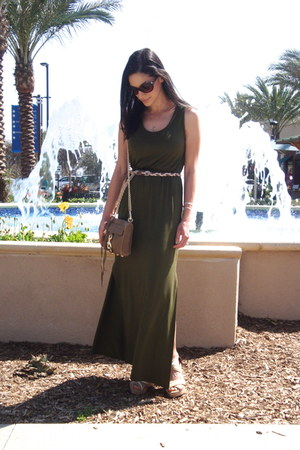 Forever 21 dress - Rebecca Minkoff bag - merona wedges