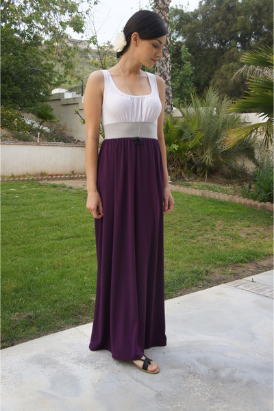 purple maxi dress Target dress