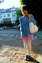 vintage blazer - Topshop shoes