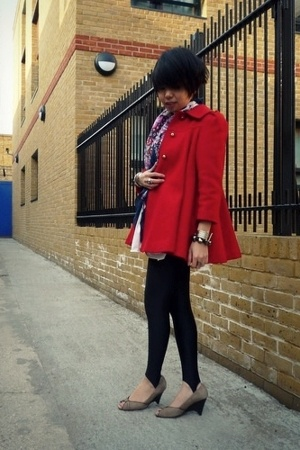 vintage coat - childhood closet leggings