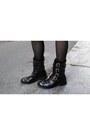 Leather-pinko-boots-faux-leather-zara-bag-liu-jo-hoodie-pinko-skirt