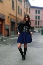 Miu Miu skirt - Stradivarius jacket
