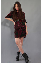 red sequins twice lux dress