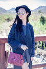 Gray-knit-zara-coat-brick-red-satchel-dressgal-bag