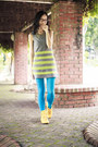 Heather-gray-striped-bysi-dress-sky-blue-turquoise-brandless-tights