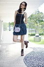 Heather-gray-cat-face-purse-taobao-bag