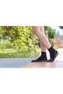 Black-neon-zigzag-h-m-dress-black-slingback-sam-edelman-sandals