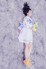 White-mesh-insert-kaehana-dress-yellow-rubber-converse-sneakers