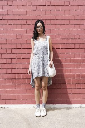 silver modcloth dress - silver spacemen Taobao socks