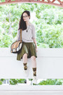 Olive-green-camouflage-stance-socks-black-black-rim-gap-glasses