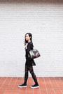 Black-printed-vivienne-westwood-tights-black-floral-dressin-bag