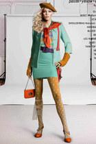 aquamarine tokyo shop blazer - orange Hermes scarf