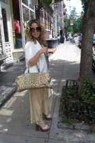 Chanel shoes - The Row Cropped pants - Celine - Proenza necklace - chrome hearts