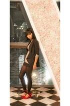 H&M - BloopEndorse blazer - H&M shorts - Navid O Nadia shoes