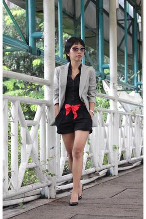 H&M shirt - H&M shorts - Dolce Vita shoes - blazer