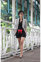 H&M shirt - H&M shorts - Dolce Vita shoes - blazer