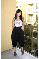 Urban Outfitters top - f21 pants - Urbanogcom shoes