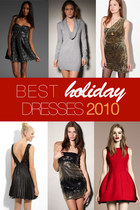 Best Holiday Dresses 2010