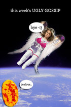 Victoria's Secret Angel is going to Outerspace