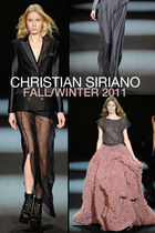 Christian Siriano Fall/Winter 2011