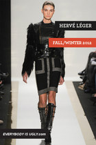Bandage meets Bondage at Herve Leger Fall/Winter 2012
